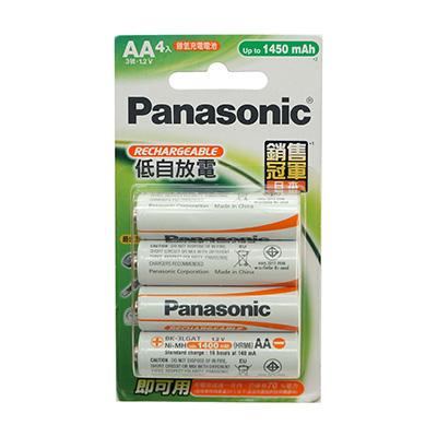 Panasonic國際3號4入充電池1450mah BK-3LGAT4B