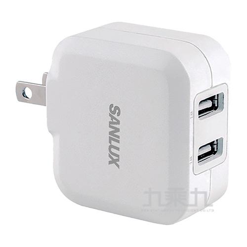 SANLUX台灣三洋USB電源供應器5V 3.4A
