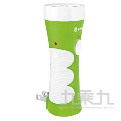 KINYO LED充電式+紫光驗鈔手電筒LED301