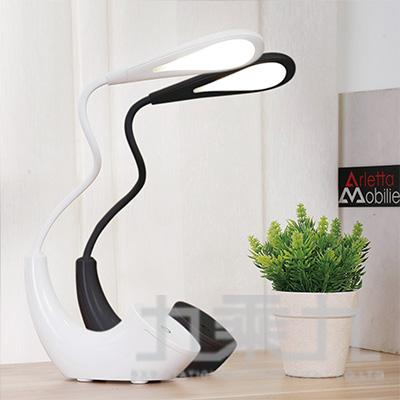 LED造型WIND時尚檯燈(黑.白) LD11