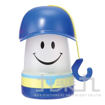 微笑LED提燈(棒球帽)-藍 PEVS1060BL