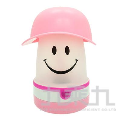 微笑LED提燈(棒球帽)-粉紅 PEVS1060PK
