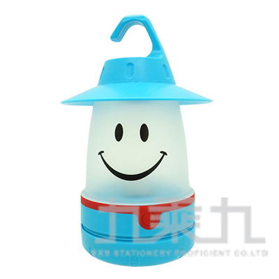 微笑LED提燈(紳士帽)-天空藍 PEVS1010SK