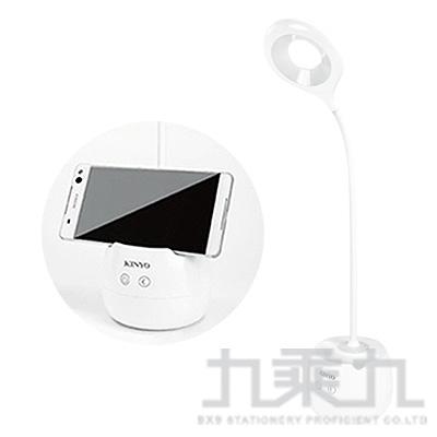 KINYO 高亮度USB充電式四合一檯燈 PLED-417