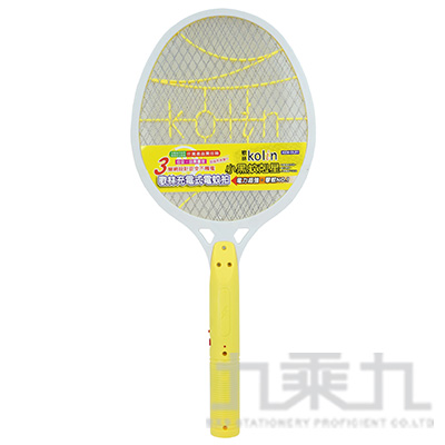 歌林充電式電蚊拍-黃 KEM-DL01