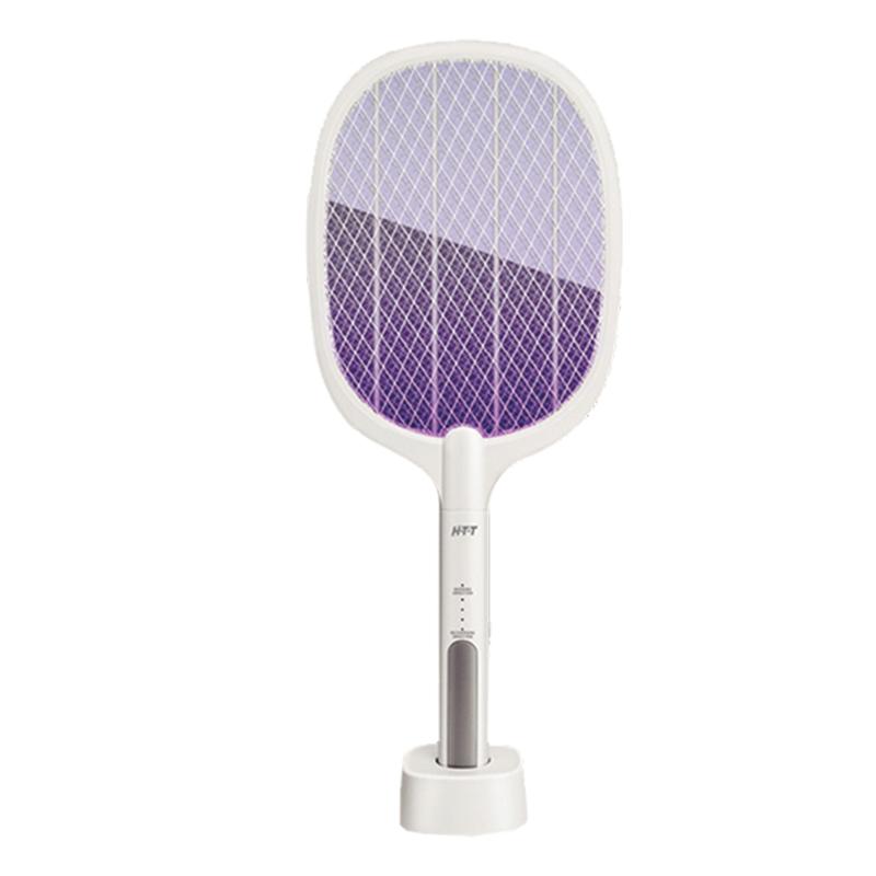HTT雙模式誘蚊座充電蚊拍