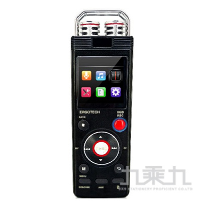 Ergotech人因科技秘錄王多功能學習數位錄音筆 VR80