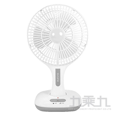 KINYO 8吋充電式折疊風扇 CF-870