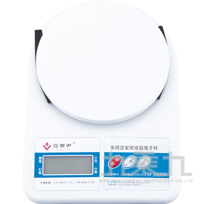 立菱尹藍光液晶電子秤TM-3000