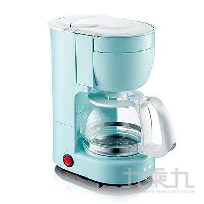 KINYO四杯滴漏式咖啡機-藍 CMH-7530BU