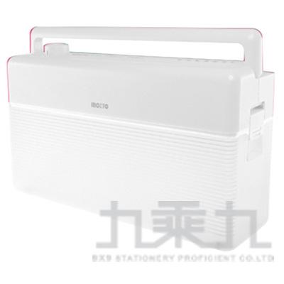 Inozto A4雙動能攜帶碎紙機(白+透明) BOA4H