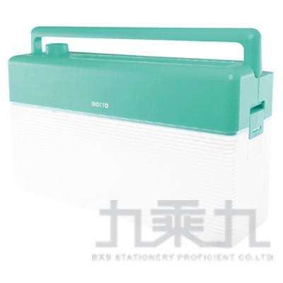 Inozto A4雙動能攜帶碎紙機(淺綠+透明) BOA4H