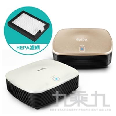 aibo J02居家/車用USB負離子空氣清淨機(HEPA濾網)