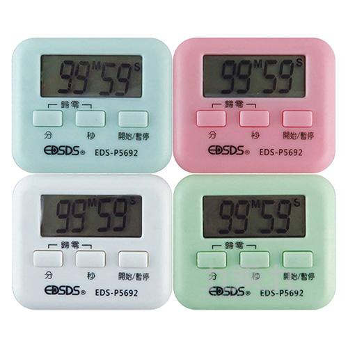 愛迪生閃光提示電子計時器 EDS-P5692(顏色隨機出貨)