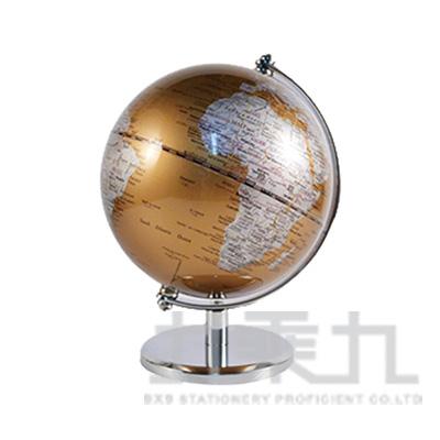 5吋金屬底座地球儀(II)-金 DK-5711A