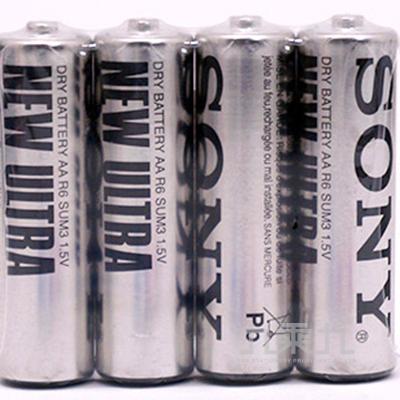 SONY3號4入電池(黑) P-SONY09