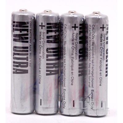 SONY4號4入電池(黑) P-SONY10