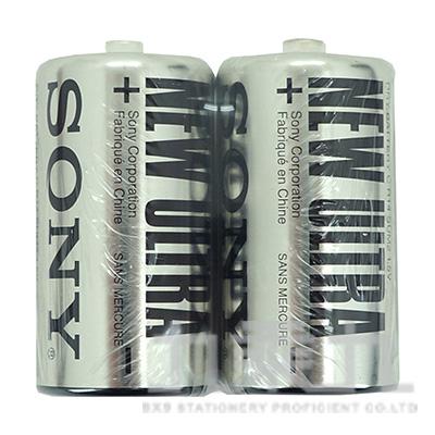 SONY 2號2入電池(黑)  P-SONY08