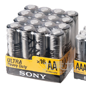 SONY 3號16入電池  P-SONY11