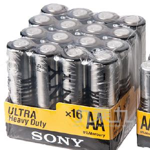 SONY 4號16入電池  P-SONY12
