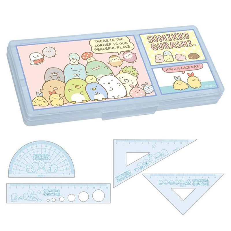 角落生物盒裝尺組HA/S:SQ87802