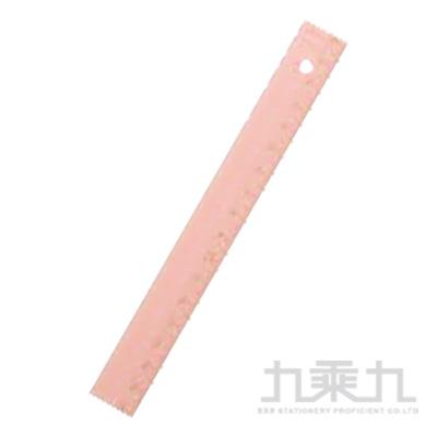 德製細長17CM直尺/ 粉紅 R/M:KM171PQ