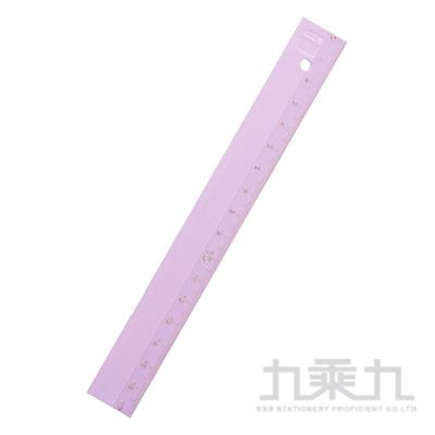 德製細長17CM直尺/ 粉紫 R/M:KM171PV