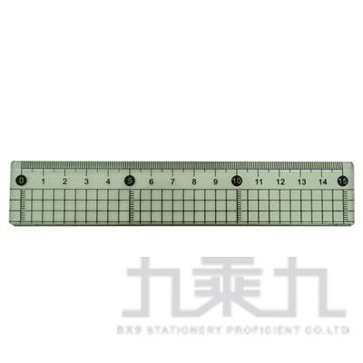 15cm透明切割尺(方格)(II) LW-7710