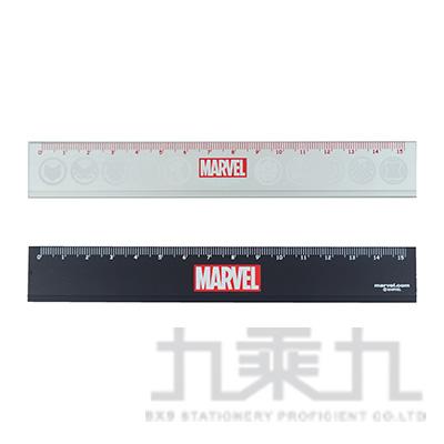Marvel 15公分溝引鋁尺 (款式隨機)