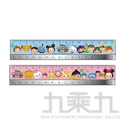 迪士尼(Tsum Tsum)15公分鐵邊尺(4) TTRU35-4