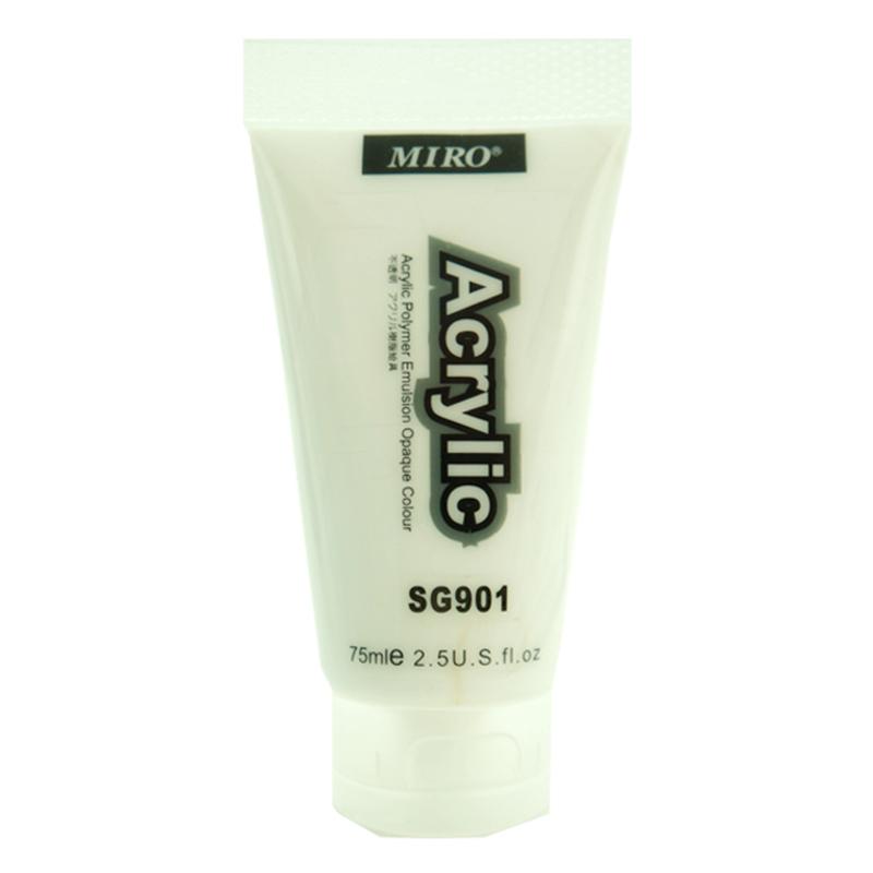 MIRO 壓克力顏料 75C 鈦白色 SG901