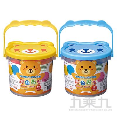 雄獅12色彩色黏土 CL-503 6702622A