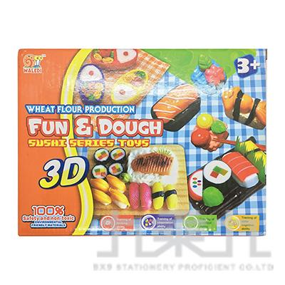 快樂黏土盒-壽司組