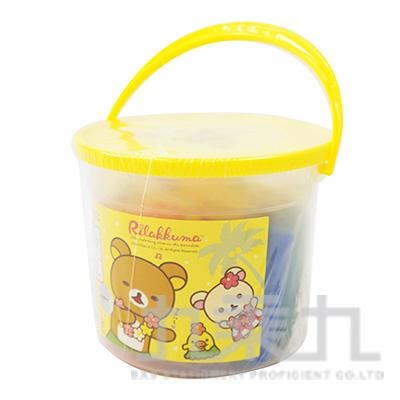 拉拉熊10色黏土-阿囉哈版 RK04517