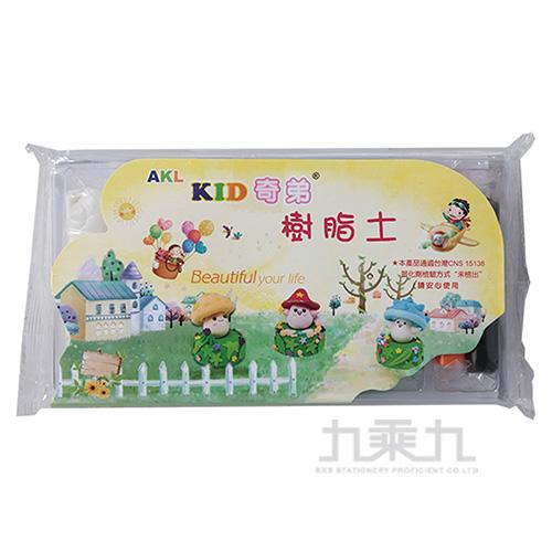 奇弟樹脂土 150g(7色入)RC-150(KID150-7C)