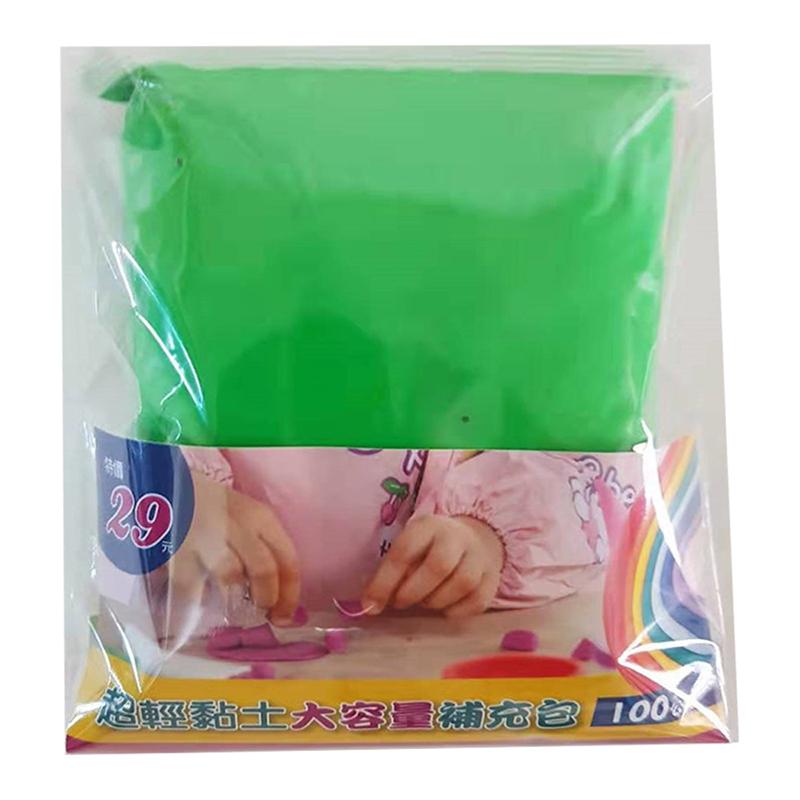 超輕黏土大容量補充包 綠色 G0248
