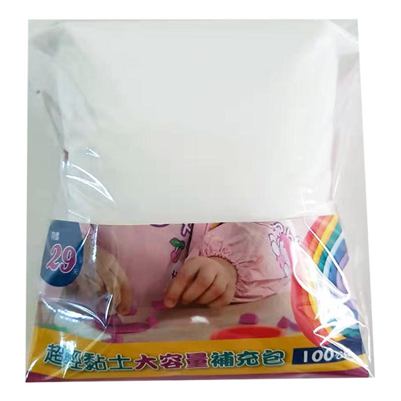 超輕黏土大容量補充包 白色 G0255