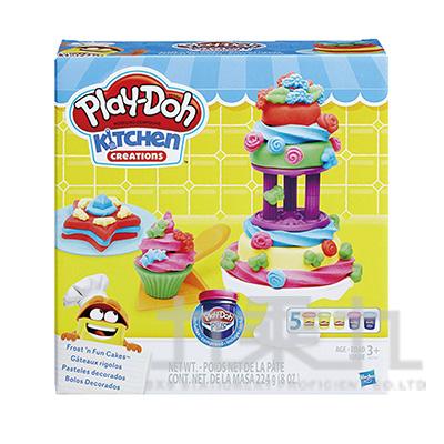 培樂多廚房系列糖霜蛋糕遊戲組 HPDB9741