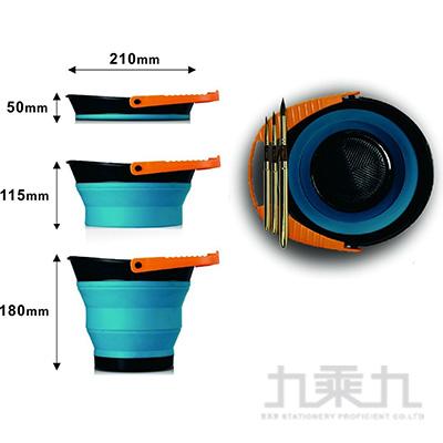 美捷樂專家多功能伸縮洗筆桶 2.5L MBW-5025