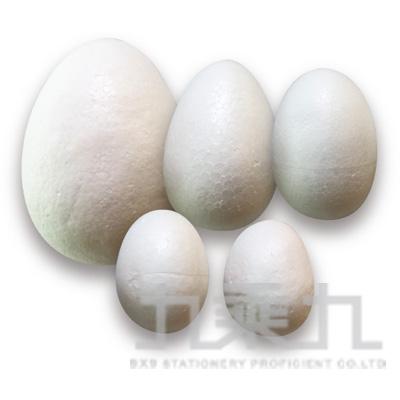 蛋型保麗龍球60mm (3入)