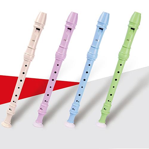 巴洛克式-英式高音直笛(米色)