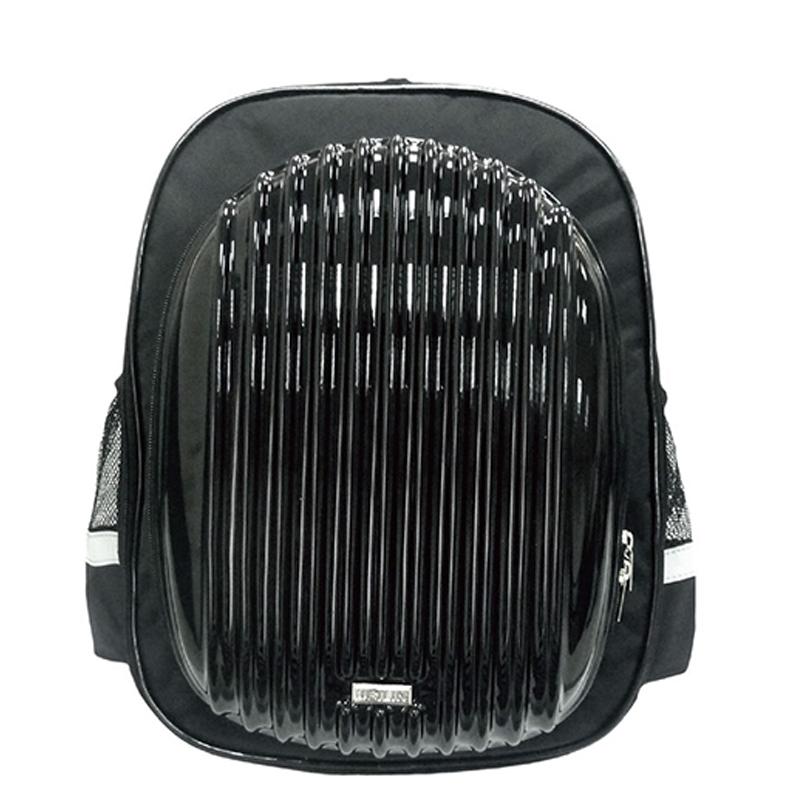 優筆霖硬殼多功能護脊書包-黑色