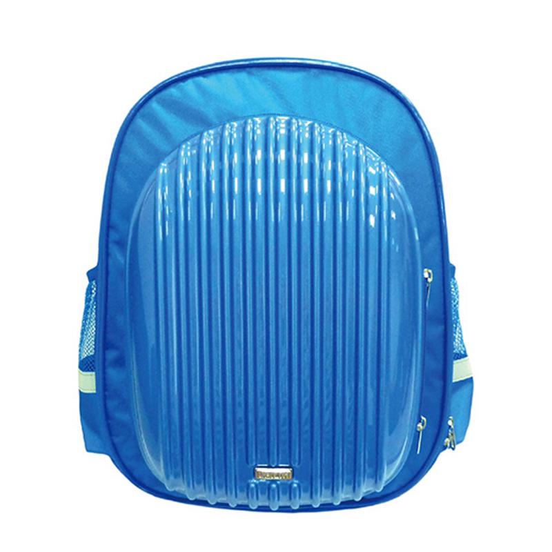 優筆霖硬殼多功能護脊書包-藍色