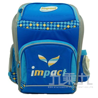 IMPACT怡寶樂優生護脊書包 藍 IM00137
