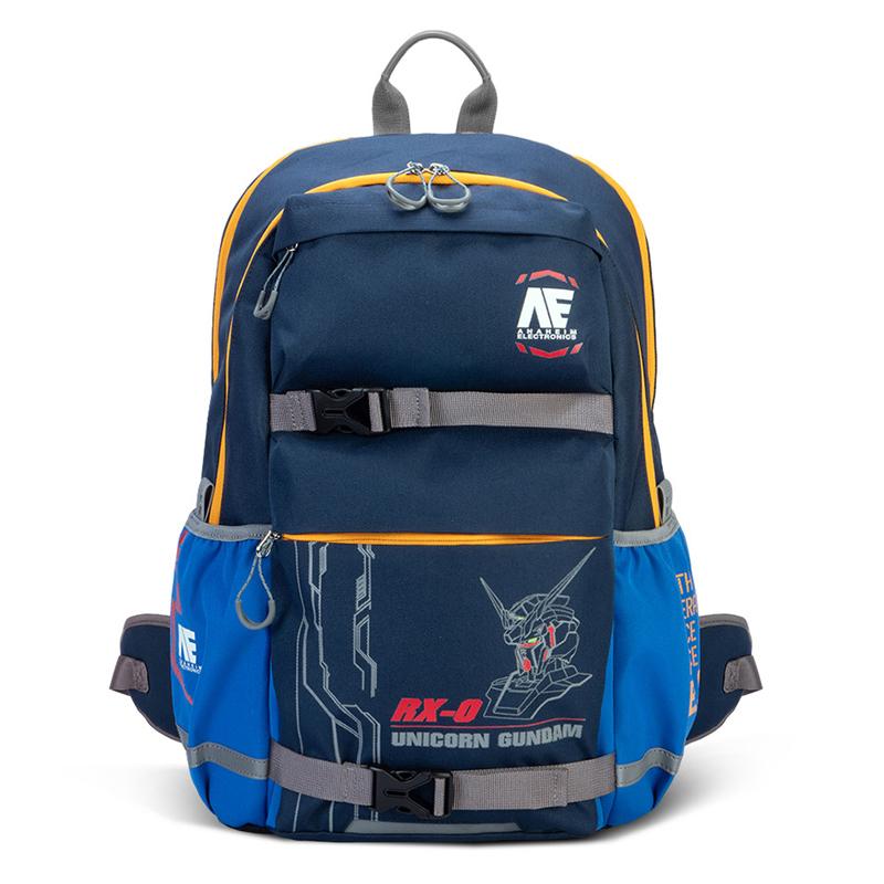 IMPACT怡寶獨角獸鋼彈AGS回彈減壓護脊書包-大-藍