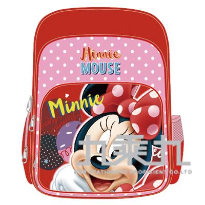 迪士尼舒適輕量護脊透氣書包-米妮 LW-9302B