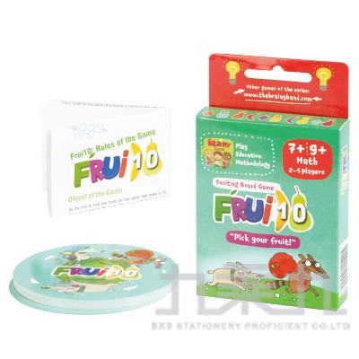 桌遊 水果數到十 Frui10