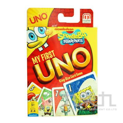 (w1906)UNO海綿寶寶遊戲卡