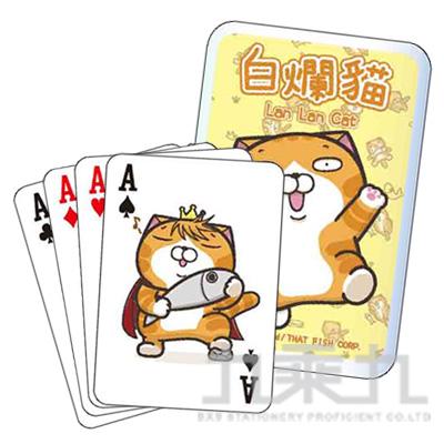 白爛貓撲克牌 LCCE60-1 (恕不挑款)