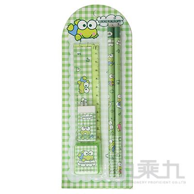 K/R 大眼蛙5件文具組(卡裝) 187146